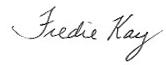 fredies-signature
