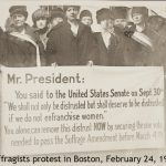 Reenactment of Boston Protest of 1919