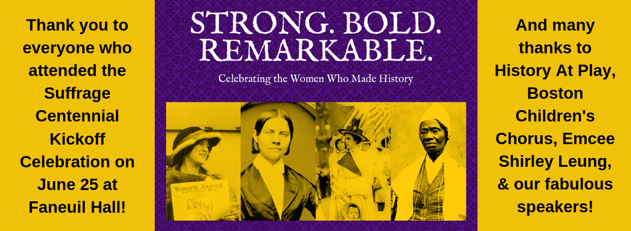 Suffrage Centennial Kickoff Celebration