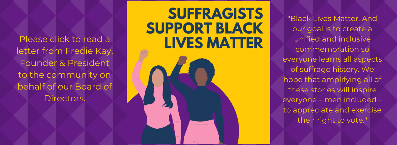 Suffragists for #BlackLivesMatter